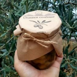 Оливки солёные большие домашние вкусные