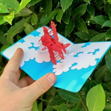 Аэроплан корпоративная открытка купить заказать
