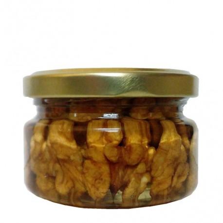 Мёд Акации белой с чищенными грецкими орешками