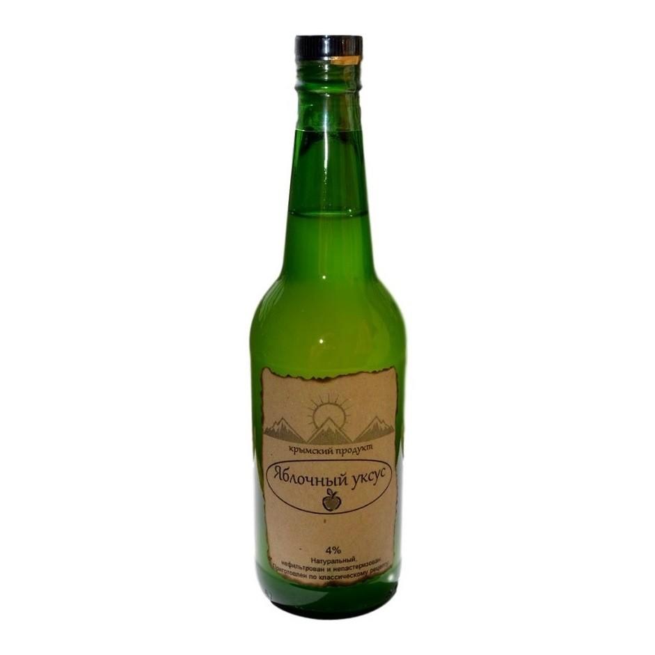 бутылка уксуса натурального непастеризованого настоящего